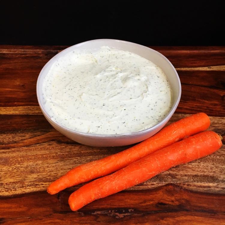 Healthy Ranch Greek Yogurt Dip